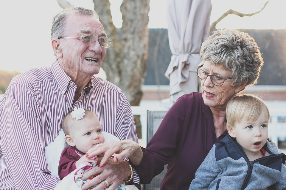 Sharing pictures is one of the best ways to stay in touch with grandparents near and far