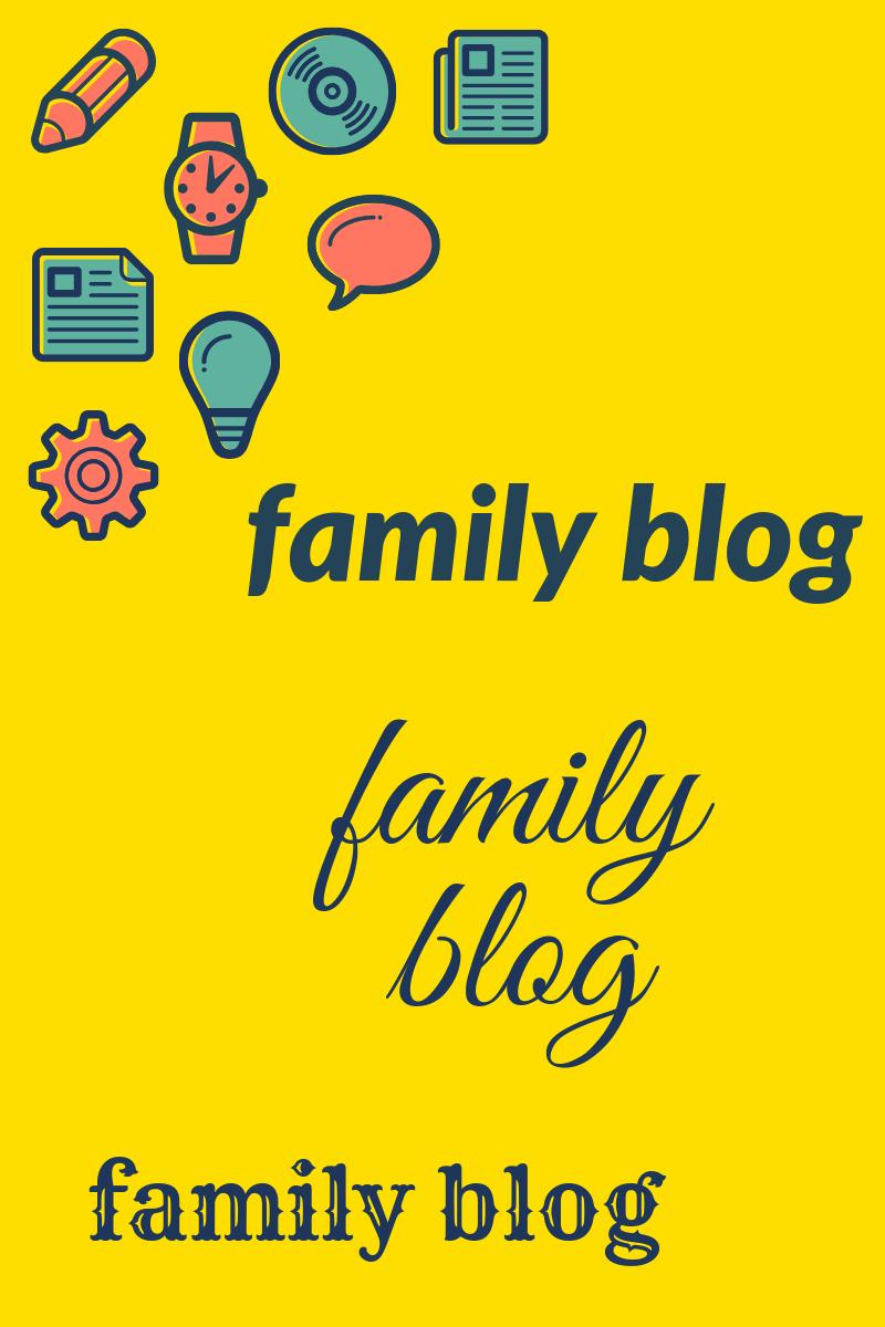family blog image